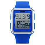 skmei 1139 женщин привели цифровые часы студент наружные спортивные часы мода случайные мальчики девушки водонепроницаемые наручные часы