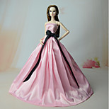 Платья Платья Для Кукла Барби Платья Для Девичий игрушки куклы
