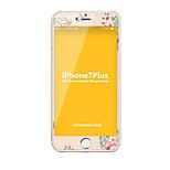 Закаленное стекло Защитная плёнка для экрана для Apple iPhone 7 Plus Защитная пленка на всё устройство Защита от царапин Против