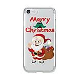 чехол для iphone 7 6 рождественская tpu мягкая ультратонкая задняя крышка чехол iphone 7 плюс 6 6s плюс se 5s 5 5c 4s 4