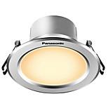 1pcs 5w вел светильник светлый светлый белый белый ac220v размер отверстие 90mm 300lm 4000k
