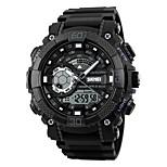 skmei мужчины спортивные часы привели цифровой двойной дисплей наручные часы хронограф сигнализации 50 м водонепроницаемые часы relogio