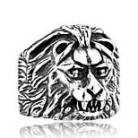 Муж. Бижутерия Животный дизайн Мода Нержавеющая сталь Титановая сталь Бижутерия Лев Бижутерия Назначение Повседневные