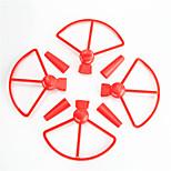 Пропеллер гвардейская Комплектующие Аксессуары RC Quadcopters Пластик 1 комплект