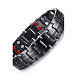 Муж. Браслеты-цепочки и звенья Браслет цельное кольцо Multi-камень Природа Мода Титановая сталь Круглый Бижутерия Бижутерия Назначение