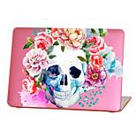 MacBook Кейс для MacBook Air, 13 дюймов MacBook Air, 11 дюймов MacBook Pro, 13 дюймов с дисплеем Retina Черепа Цветы Термопластик материал