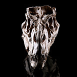 1pc Хэллоуин динозавр голова смолы черепа дома избежать ужаса реквизит украшения