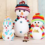 3pc рождественский орнамент фестиваль статьи рождество маленькая кукла снеговик кулон маятник подвеска небольшой подарок подарок
