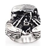 Муж. Классические кольца Панк Rock Нержавеющая сталь В форме черепа Бижутерия Назначение Для сцены