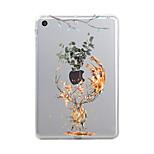 Назначение iPad (2017) Чехлы панели Прозрачный С узором Задняя крышка Кейс для Животное Рождество Мягкий Термопластик для Apple iPad