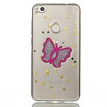 для huawei p10 lite p8 lite (2017) телефон чехол tpu материал бабочка флеш-накопитель телефон корпус nova 2 p10