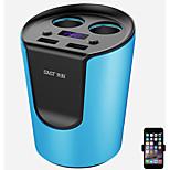 sast ay-t01 зарядное устройство для автомобильного зарядного устройства 2 выхода 2 порта USB 3.1a dc 12v-24v