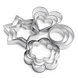 Формы для пирожных Повседневное использование Нержавеющая сталь + категория А (ABS) Инструмент выпечки
