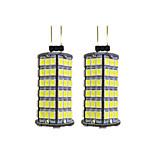 4W Двухштырьковые LED лампы 120 SMD 2835 320 lm Тёплый белый Белый DC 12 V G4