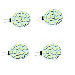 1W Двухштырьковые LED лампы T 15 SMD 5730 200 lm Тёплый белый Холодный белый Декоративная V 4 шт. G4