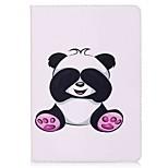 Назначение iPad 10.5 Чехлы панели Бумажник для карт Кошелек со стендом Флип С узором Магнитный Чехол Кейс для Панда Твердый Искусственная