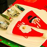 2pc веселый рождественский снеговик пара стул охватывает рождественские украшения орнамент навидад ужин декор стул наборы подарочные