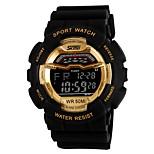 yy1012 skmei цифровые наручные часы 5атт водонепроницаемые мужчины часы наружные спортивные часы с календарем подсветка подсветки недели