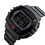 yy1304 skmei бренд мужчины спортивные часы хронограф обратный отсчет двойного времени цифровые наручные часы 50м водонепроницаемые мужские