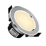 delixi® 1pc 5w led downlight celing светлый белый / белый размер отверстия ac220v 90 мм 300lm 3000 / 6000k угол луча 120
