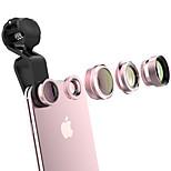Объектив для мобильного телефона qadou 2.5x длинный фокусный объектив cpl с фильтром 185 объектив с рыжим глазком 10x макрообъектив 120