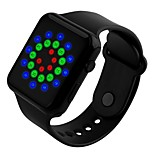 спортивные наручные часы мужские моды цифровые светодиодные водонепроницаемые часы для женщин студент силиконовые наручные часы
