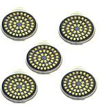 3W Точечное LED освещение 48 SMD 2835 500 lm Тёплый белый Холодный белый Декоративная AC 12 V 5 шт. GU10