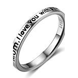 Жен. Классические кольца Кольцо на кончик пальца Геометрический Стерлинговое серебро Геометрической формы Бижутерия Назначение