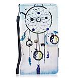 для чехлов держатель карты держатель кошелек с подставкой флип магнитный рисунок полный корпус чехол мечты ловец жесткий кожа pu для