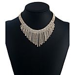 Жен. Ожерелья-бархатки Стразы Сплав Pоскошные ювелирные изделия Бижутерия Назначение Свадьба