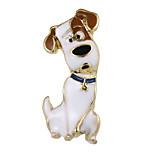 Жен. Броши Бижутерия Животный дизайн Природа Сплав Геометрической формы Собака Бижутерия Назначение Для вечеринок Офис