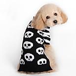 Кошка Собака Плащи Свитера Одежда для собак Для вечеринки Косплей На каждый день Сохраняет тепло Свадьба Хэллоуин Рождество Новый год
