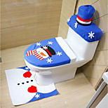 случайный стиль веселый рождество и счастливый новый год лучший рождественский подарок&рождественские украшения санузел для унитаза