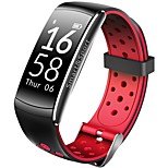 yy q8 men's woman smart bracelet heart rate monitor фитнес-трекер bluetooth wristband водонепроницаемый монитор sport smartband для
