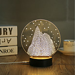 1 комплект Декоративная Декоративное освещение LED Night Light USB огни-0.5W-USB