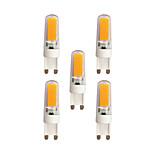 3W Двухштырьковые LED лампы T 2 COB 240 lm Тёплый белый Белый AC 220-240 V G9