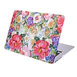 MacBook Кейс для MacBook Air, 13 дюймов MacBook Air, 11 дюймов MacBook Pro, 13 дюймов с дисплеем Retina Цветы Термопластик материал