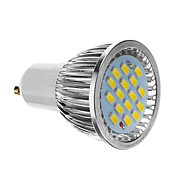 GU10 6W 16 SMD 5730 640 LM Cool White LED Spotlight AC 85-265 V