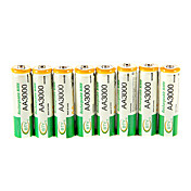 BTY 3000mAh AA Ni-MH Rechargeable Battery 8pcs