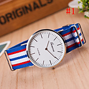 Men\s Watch Fashion Watch Simple Style Silver Round Dial