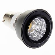 Lâmpada de Foco B22 3 W 150-180 LM 2700-3500 K Branco Quente 1 COB V
