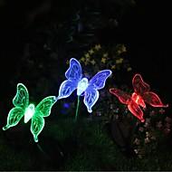 Solar farveskiftende Butterfly Garden Stake Light