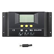 Kontroler ładowania słonecznego 30a lcd Regulator ładowania baterii słonecznej y solar30