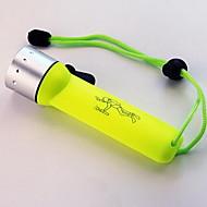 Portable Mini Waterproof Outdoor LED Flashlight (Random Colors)