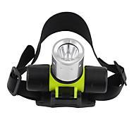 Belysning LED Lommelygter / Hodelykter / Dykkelamper LED 1200 Lumens 3 Modus Cree T6 18650 / AAA Vandtæt / Kompaktstørrelse / Super Lett
