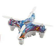 Drón Cheerson CX-10D 4CH 6 Tengelyes 2,4 G RC quadcopterLED Világítás / Auto-Felszállás / Üzembiztos / Lebeg / Alacsony Akkufeszültség