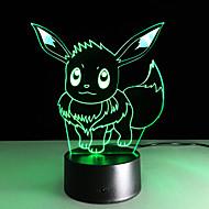 1pc 2016 nuovo Ibrahimovic luci colorate di 3d tocco LED visivo atmosfera dono la luce della lampada decorativa