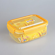 Plastic Houseware Rectangular Locking Lid Storage Box