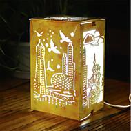 1pc llevó creativo trabajo hecho a mano regalo de cumpleaños de San Valentín decoración nterior luz de la noche