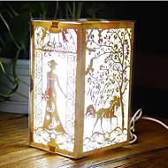 nightlight llevado creativos productos electrónicos de la novedad de colores 3d luces de la noche lámpara de luces decorativas romántico